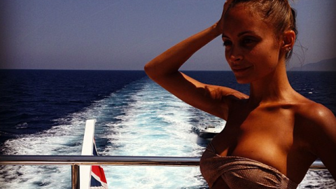 Nicole Richie's European Yacht Vacation is Costing $260,000 Per Week | StyleCaster