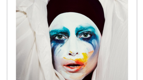 """Lady Gaga Releases Cover Art For New Single """"Applause""""   StyleCaster"""