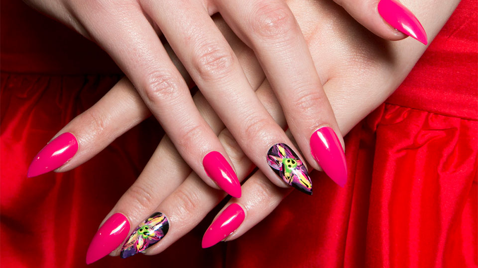 30 Stiletto Nail Art Designs That Aren't for the Faint of Heart