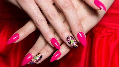 Standout Stiletto Nail Art You'll Want to Copy | StyleCaster