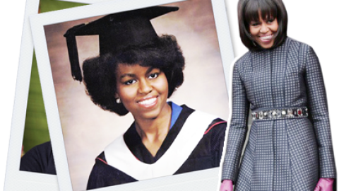 #ThrowbackThursday: See A 21-Year-Old Michelle Obama   StyleCaster