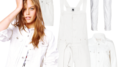White Denim For Summer: 12 Sleek Pieces To Buy and Wear Now | StyleCaster