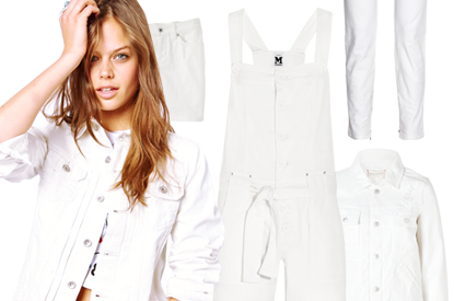 White Denim For Summer: 12 Sleek Pieces To Buy and Wear Now