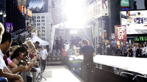 Full Access: Express Rock The Sidewalk Fashion Show in New York City | StyleCaster