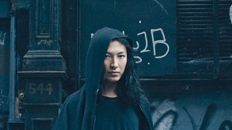 Alexander Wang Poses With A Live Ram For Woolmark Company Ad Campaign | StyleCaster