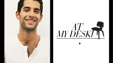 At My Desk: Onia Co-Founder Nathan Romano Loves Candy, Hates Paper | StyleCaster