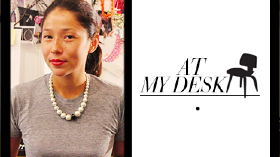 At My Desk: Jewelry Designer Venessa Arizaga Surrounds Herself with Doughnut Charms and Plenty of Thread | StyleCaster