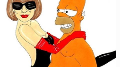Italian Artist Creates Sex Guide Starring Anna Wintour and Homer Simpson | StyleCaster