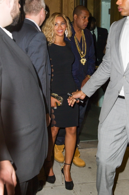 Celebrity Sightings In New York City - August 25, 2013