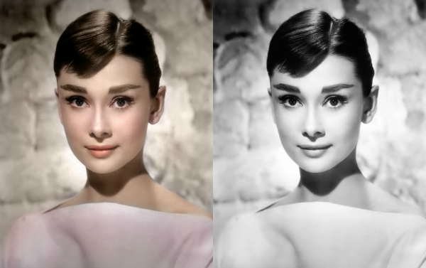 colorized history audrey hepburn See What 12 Iconic Sex Symbols Look Like in Color Photos