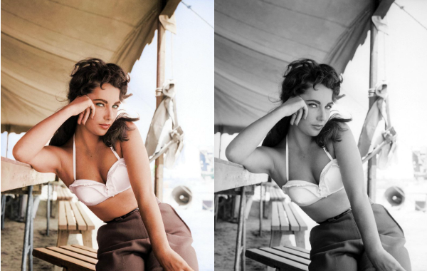 colorized history elizabeth taylor See What 12 Iconic Sex Symbols Look Like in Color Photos