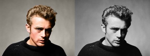 colorized history james dean See What 12 Iconic Sex Symbols Look Like in Color Photos