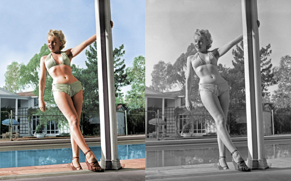 colorized history marylin monroe See What 12 Iconic Sex Symbols Look Like in Color Photos