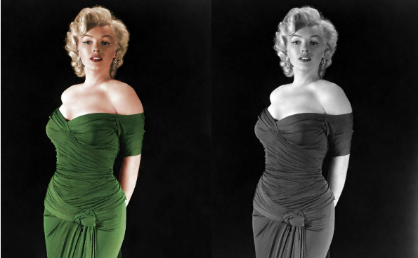 colorized history marylin monroe2 See What 12 Iconic Sex Symbols Look Like in Color Photos