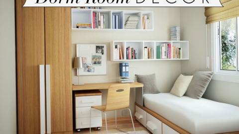 Interior Design Guru Alexa Hampton's Dorm Room Decor Tips | StyleCaster