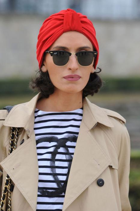 how tot wear a turban street style