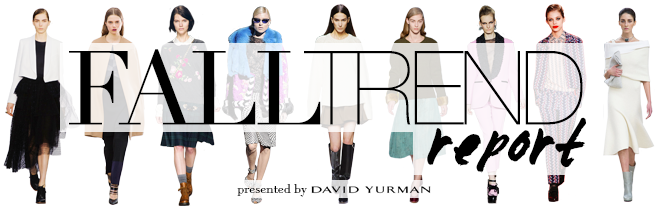 Fall Trend Report 2013