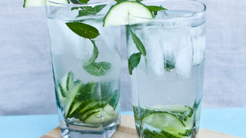 Weekend Cocktail: The Cucumber Gin Fizz | StyleCaster