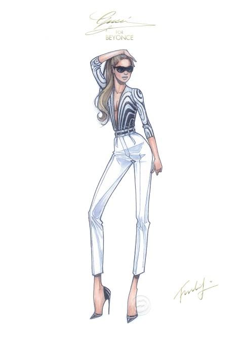 Gucci Beyonce 2 sketch