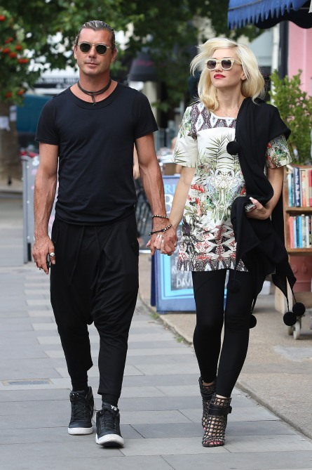 Celebrity Sightings In London - August 19, 2013