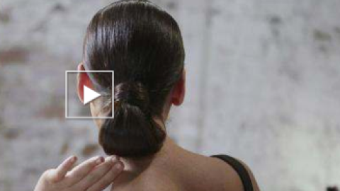 How To Do a Perfect Chignon For Fall | StyleCaster