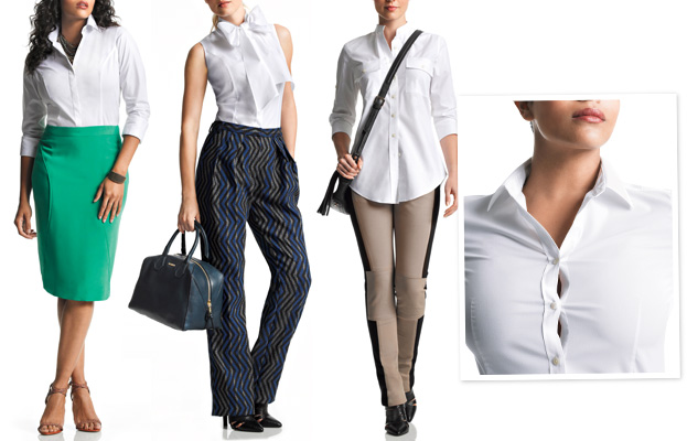 instyleshirts New Line of White Shirts Uses Your Bra Size To Create The Perfect Fit