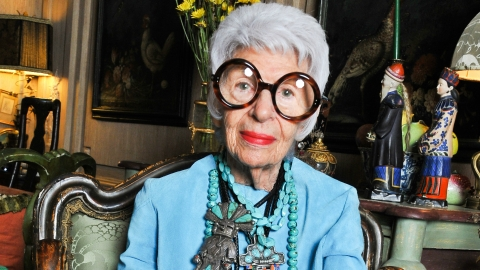 Fashion Icon Iris Apfel on Street Style: 'Discipline Has Gone To Hell' | StyleCaster