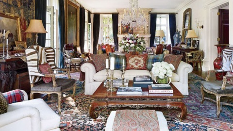 Inside Ralph Lauren's Homes Around the World   StyleCaster