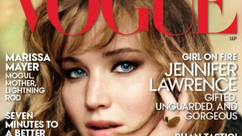 Jennifer Lawrence Covers Vogue, Says She Always Knew She'd be Famous | StyleCaster