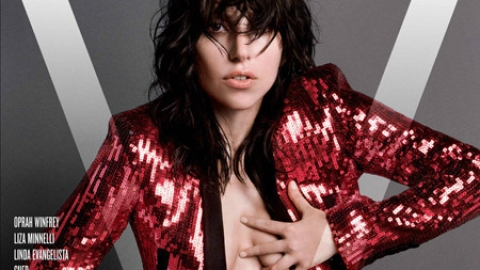 The First of Lady Gaga's Four <em>V</em> Magazine Covers Is Here | StyleCaster