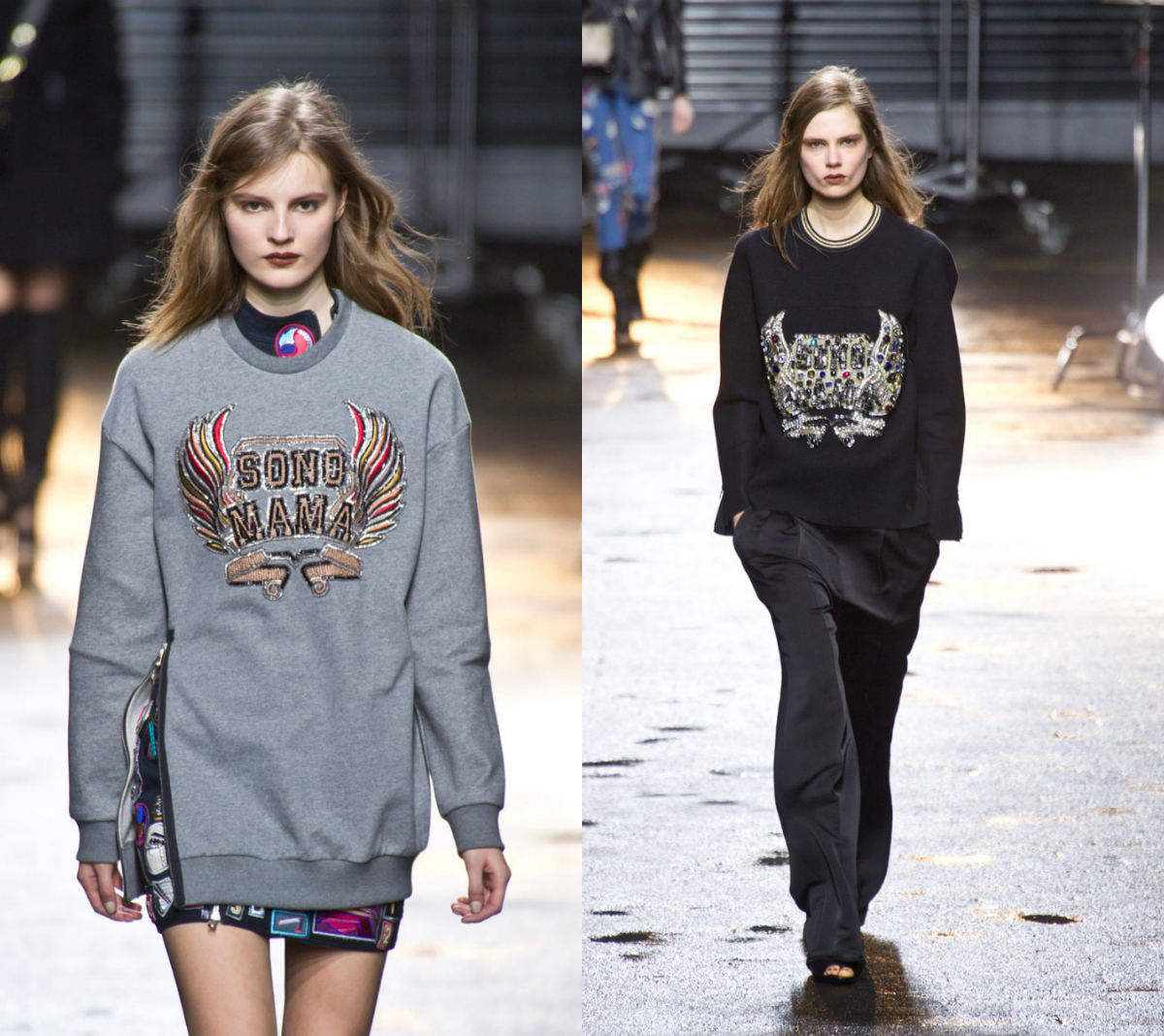 limsweatshirts Love 3.1 Phillip Lims Embellished Sweatshirt? Heres How To DIY Your Own