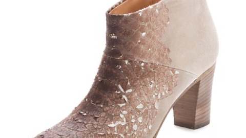 Want: A Pair of Snakeskin Margiela Ankle Boots For 70% Off | StyleCaster