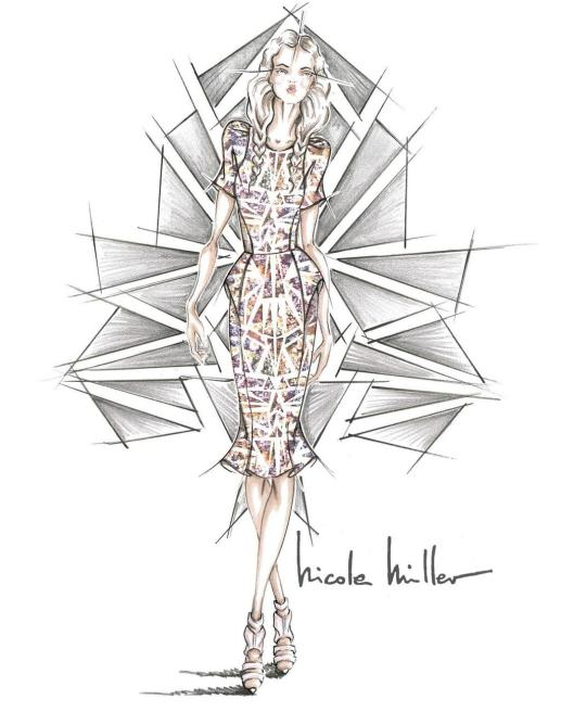 nicole miller sketch