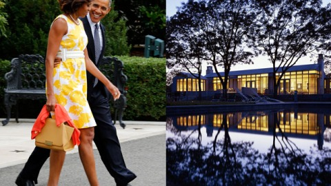 The Obamas Are Vacationing at a $7.6 Million House On Martha's Vineyard (And We Have the Details) | StyleCaster