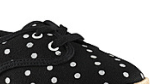 Want: A Cute Pair of Comfortable Polka-Dot Sneakers | StyleCaster