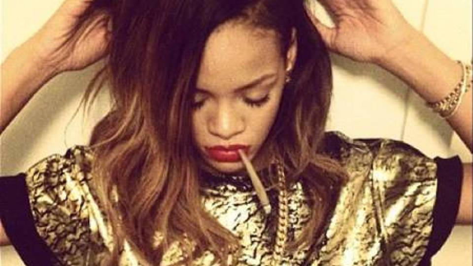 What's Up with Rihanna and Miley's Weed-Obsessed Instagrams?   StyleCaster