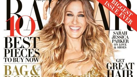 Sarah Jessica Parker Dishes on Her Manolo Blahnik Line In <em>Harper's Bazaar</em> September Issue | StyleCaster