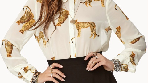 Printed Blouses: 8 Statement-Making Tops To Buy and Wear Now | StyleCaster