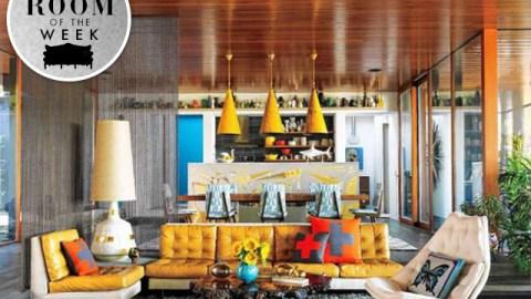 Room of the Week: Simon Doonan and Jonathan Adler's Groovy Shelter Island Living Room | StyleCaster