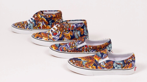 Vans Latest Sneaker Collaboration With Kenzo Is Absolutely Awesome   StyleCaster