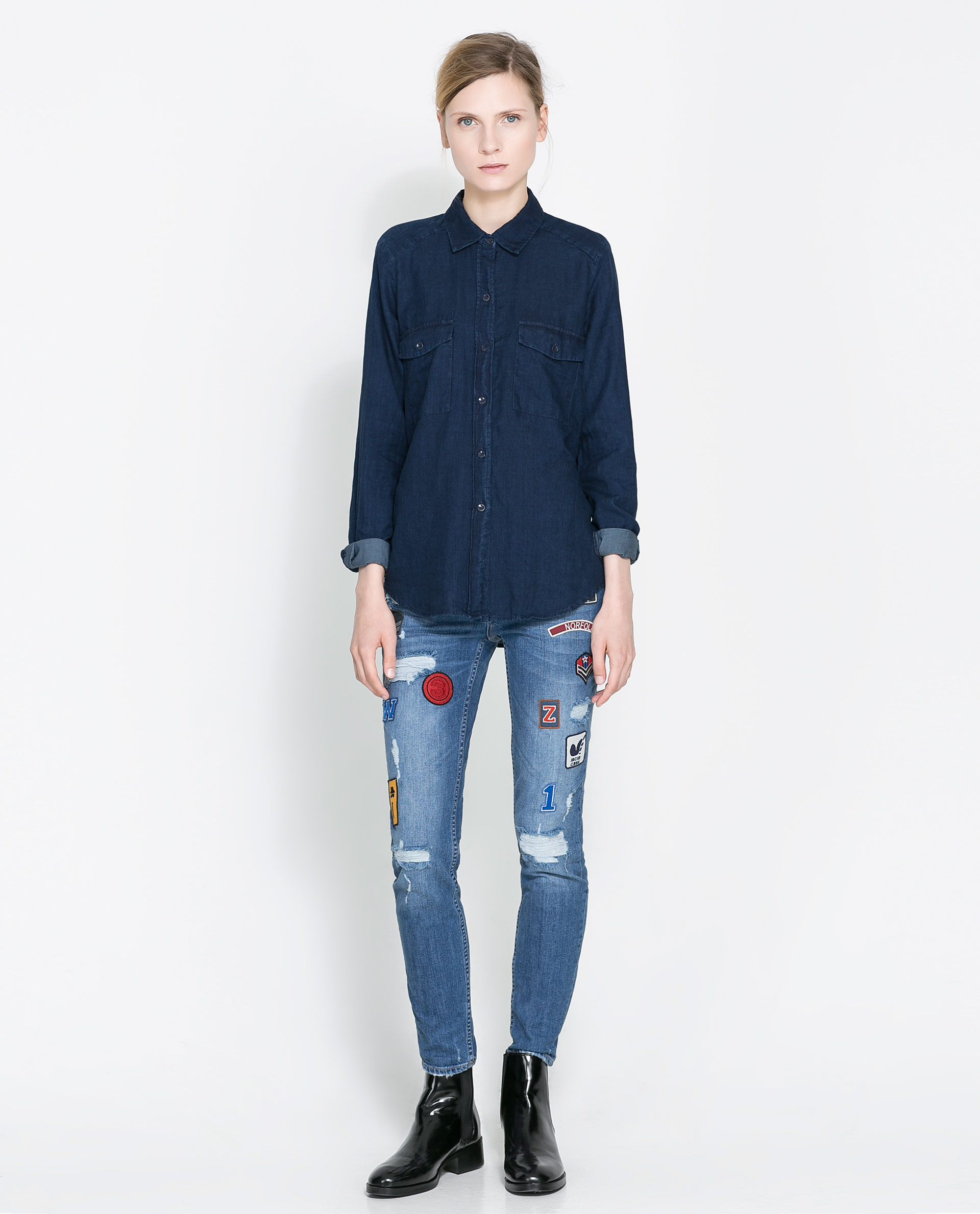 Trend To Try: Patchwork Denim (And How to DIY Your Own)