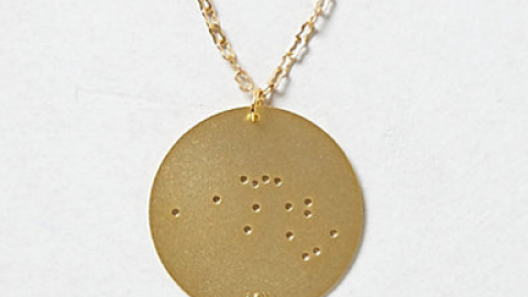 Want: A Zodiac Necklace That's Actually Quite Stylish | StyleCaster