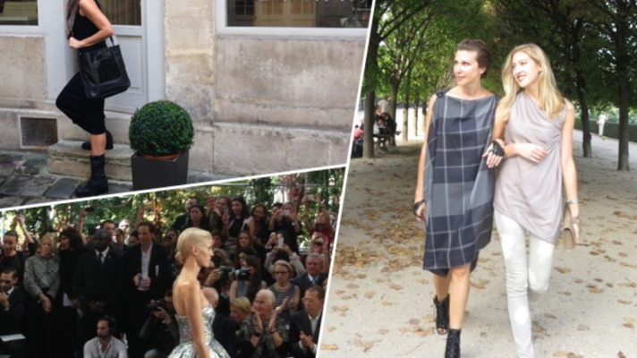 Sally and Chloe Perrin Take Us With Them To Paris Fashion Week