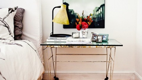 8 Seriously Amazing Bedside Table Ideas From Pinterest | StyleCaster
