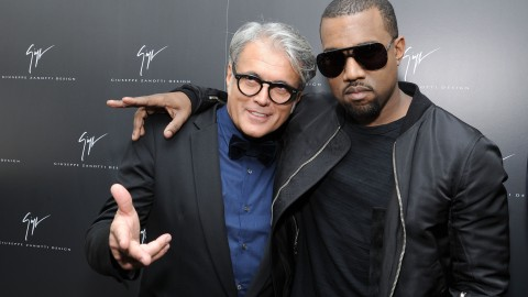 Giuseppe Zanotti on His Friendship With Kanye West: 'It's True Brotherly Love' | StyleCaster