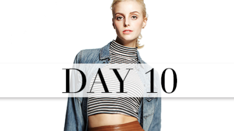 Day 10: Laid-Back Sex Appeal | StyleCaster