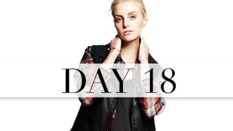 Day 18: Glamour Grunge   StyleCaster