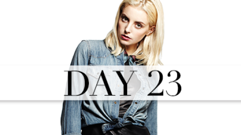 Day 23: '90s-Inspired Cool | StyleCaster