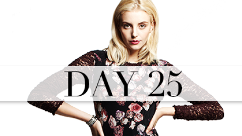 Day 25: Moody Florals | StyleCaster