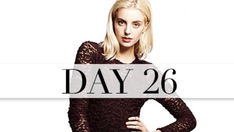 Day 26: Slinky Chic | StyleCaster